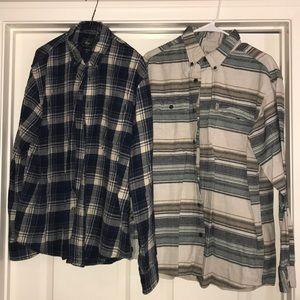 Flannel shirt bundle